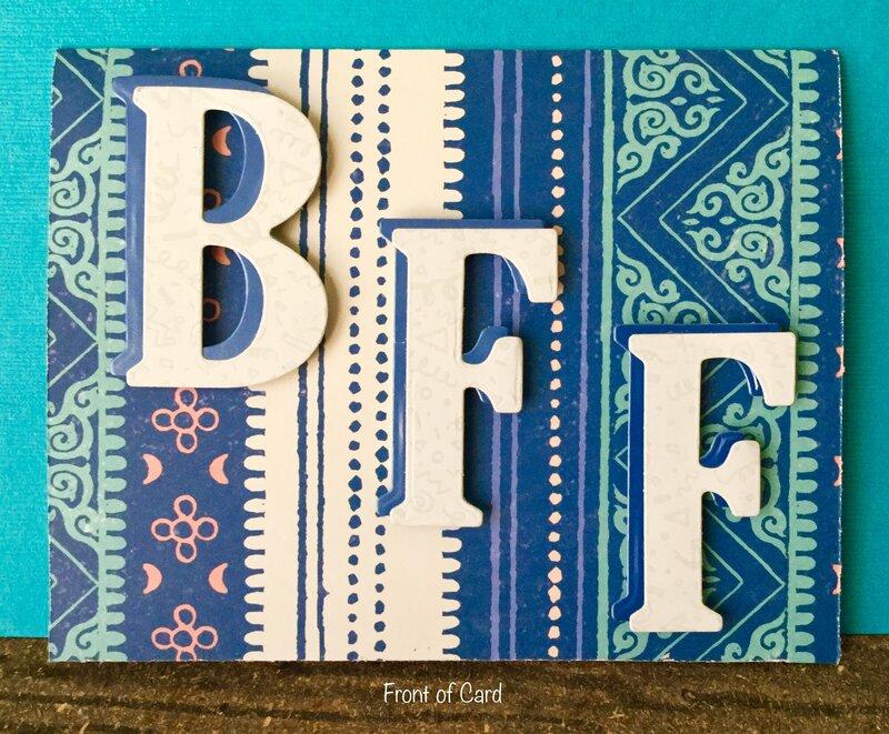 BFF Card for Wonderful Partner