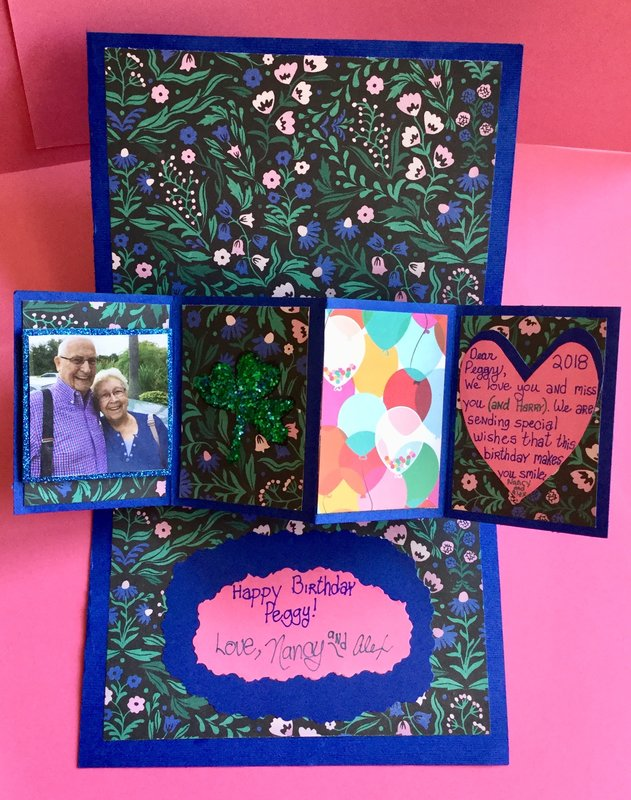 Pop Up and Twist Birthday Card