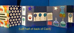 Longest Birthday Card Ever - (Left Half of Back of Card)Couldn�t figure out how to show the right half....