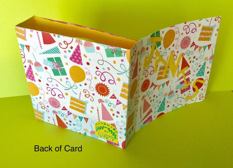 Pop Out Window 3D Birthday Card