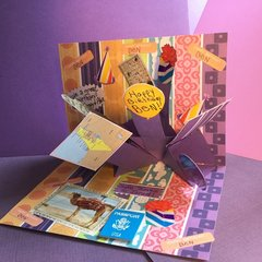 Scatter Pop-Up Birthday Card