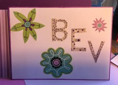 Envelope for Pop-up Purple Birthday Card