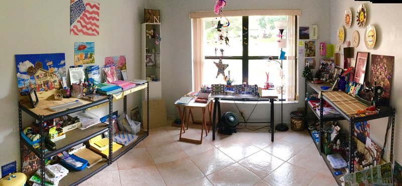 Cleaned up and Reorganized my Craft Room/Paradise