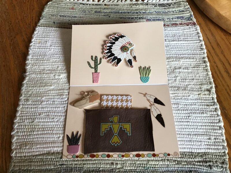 Southwestern Card for a best friend