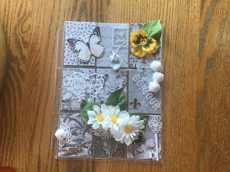 Pocket Letter Swap September