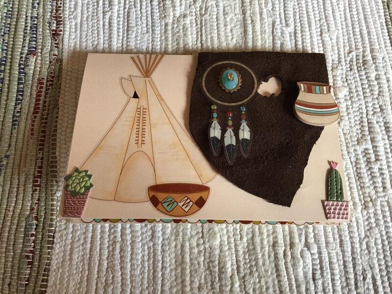 Southwestern Card for my wonderful friend.