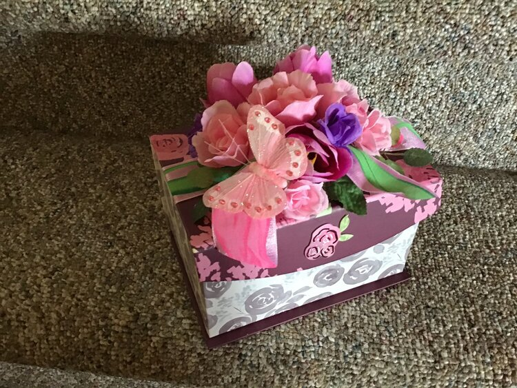 Goodie box for Peggy