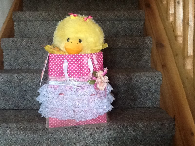 Easter Bag for my seven year old Granddaughter.