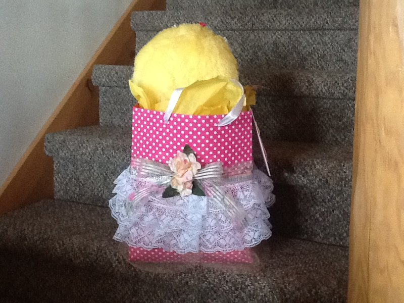 Back of my Easter Bag for Eliana
