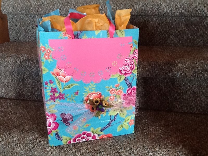 Back view of Easter Bag