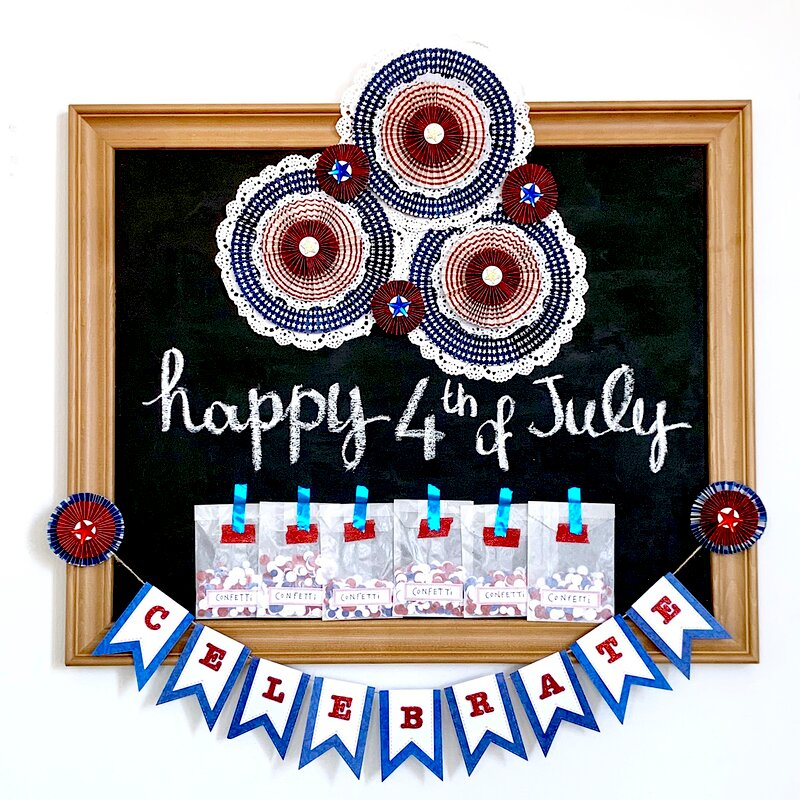 The 4th of July Home Decor