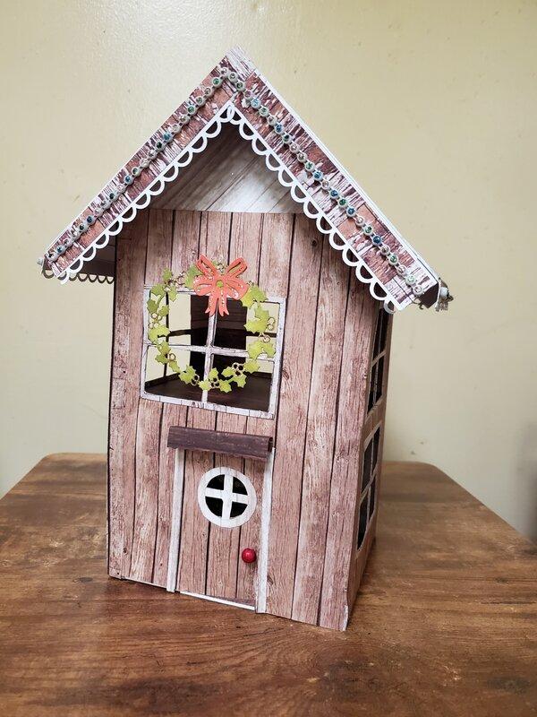 Ciao Bella Woodland Christmas House
