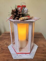 Merry and Bright Holiday Lantern