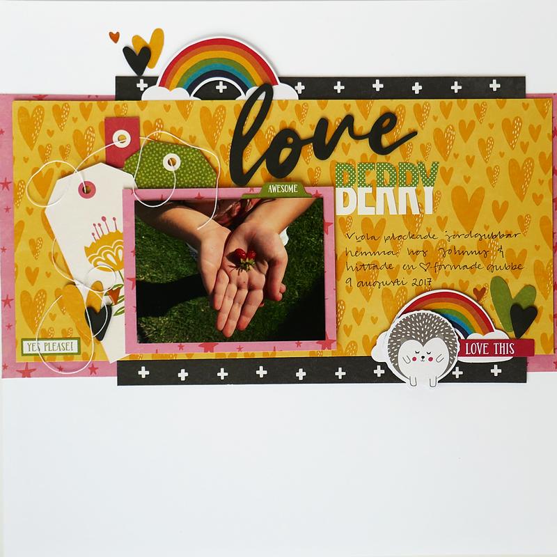 Love Berry Layout *Jillibean Soup*