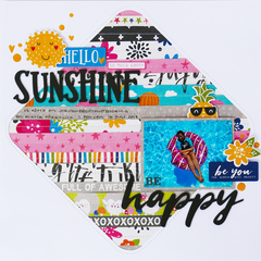 Hello Sunshine Layout *Jillibean Soup*