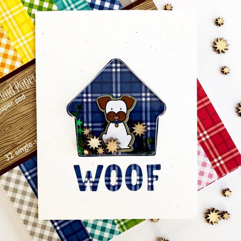 Woof Shaker Card *Jillibean Soup*