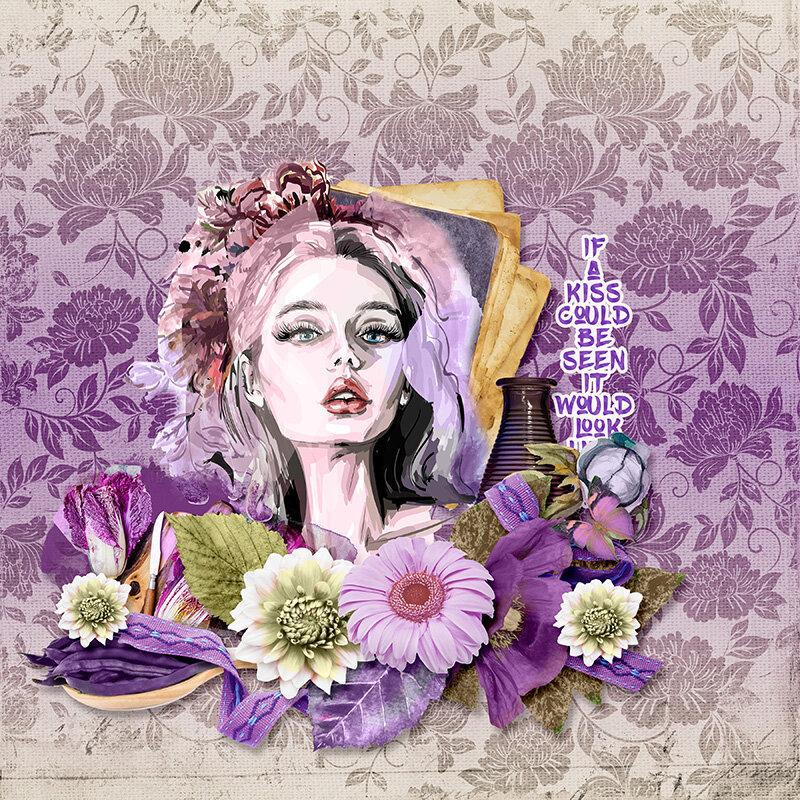 Falling Violets
