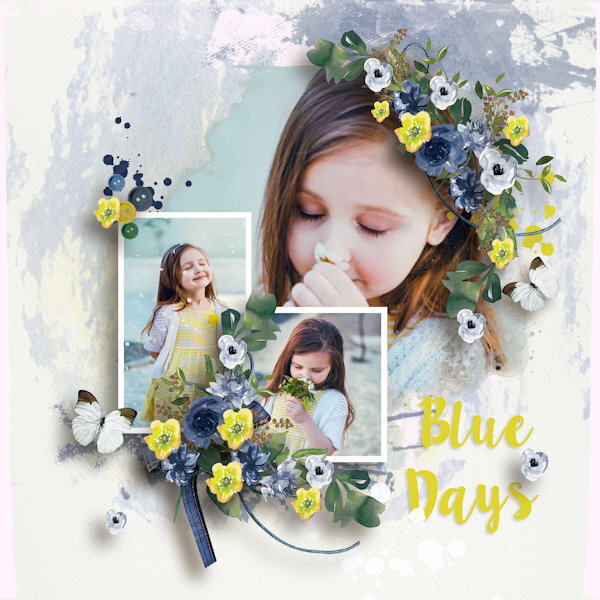 Templates Blue Days