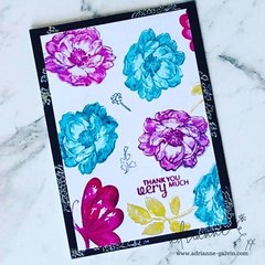 One Dimensional Layered Stamp Card