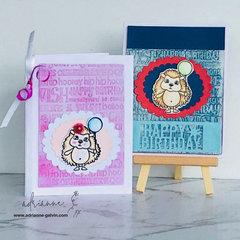 Hedge Happy Birthday Cards - HABH#12