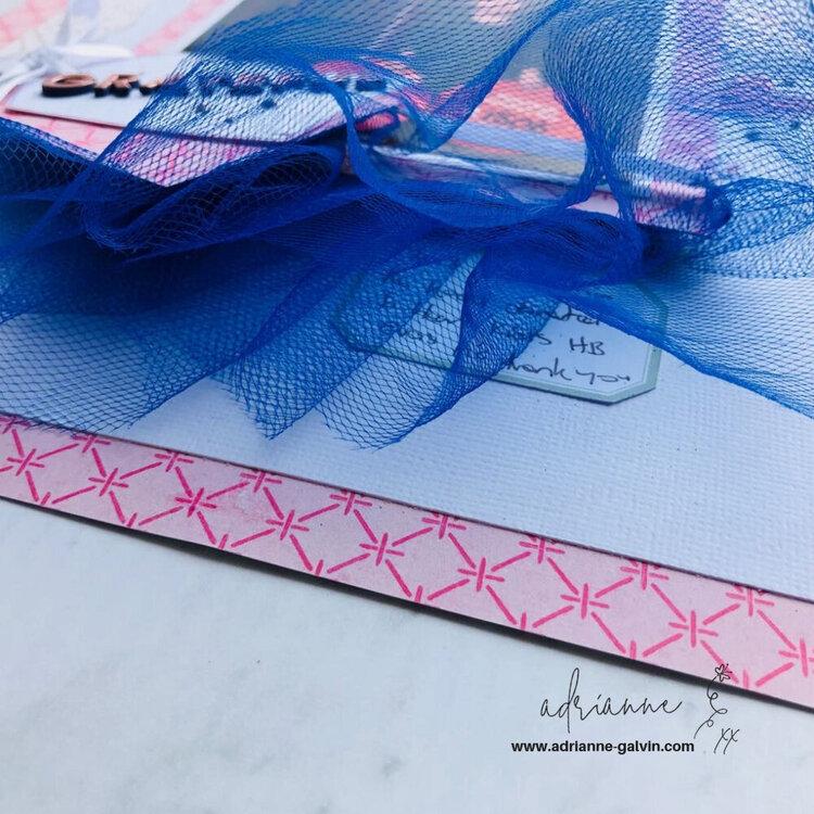12 x 12 Scrapbook Layout (Grateful) - Jen Hadfield & Maggie Holmes