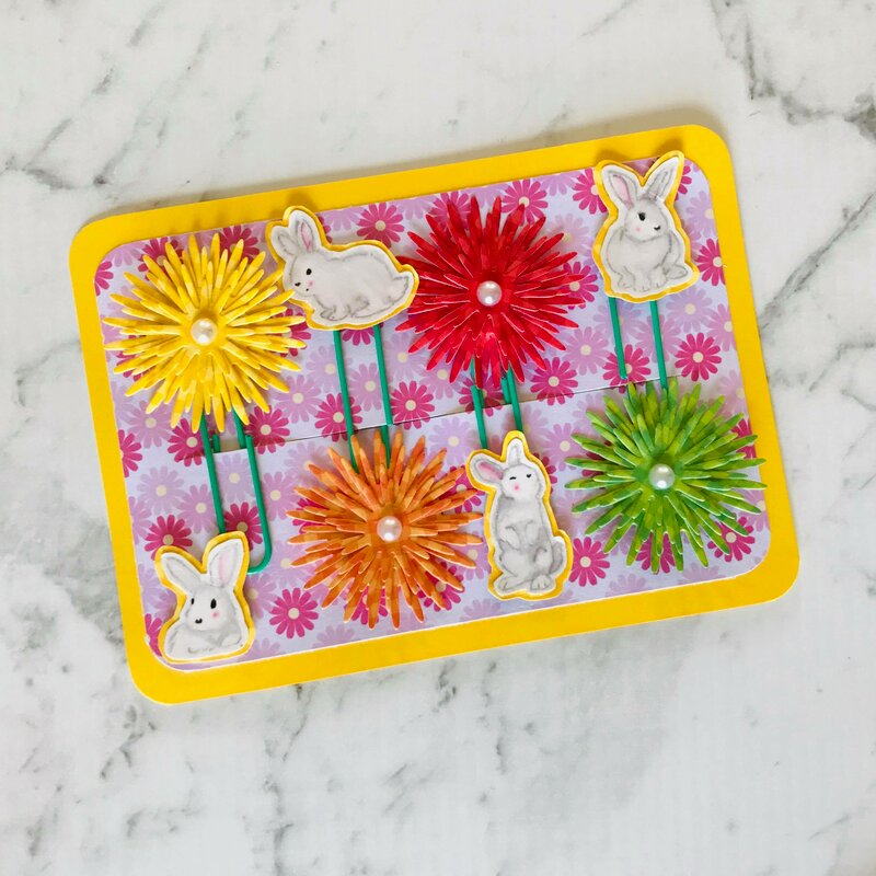 Spring / Easter Altered Paper Clip Set