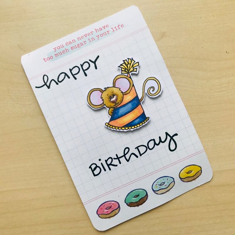 Happy Birthday - Part Hat Cocoa