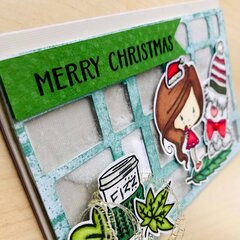 Merry Christmas - Shaker Card