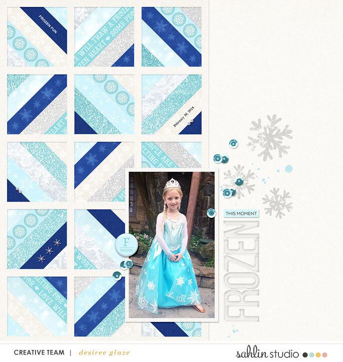 My Little Queen Elsa- February 2014