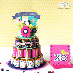 Chocolate Nugget Cake and card