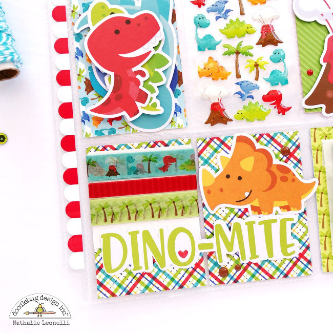 Dino-mite Pocket Letter