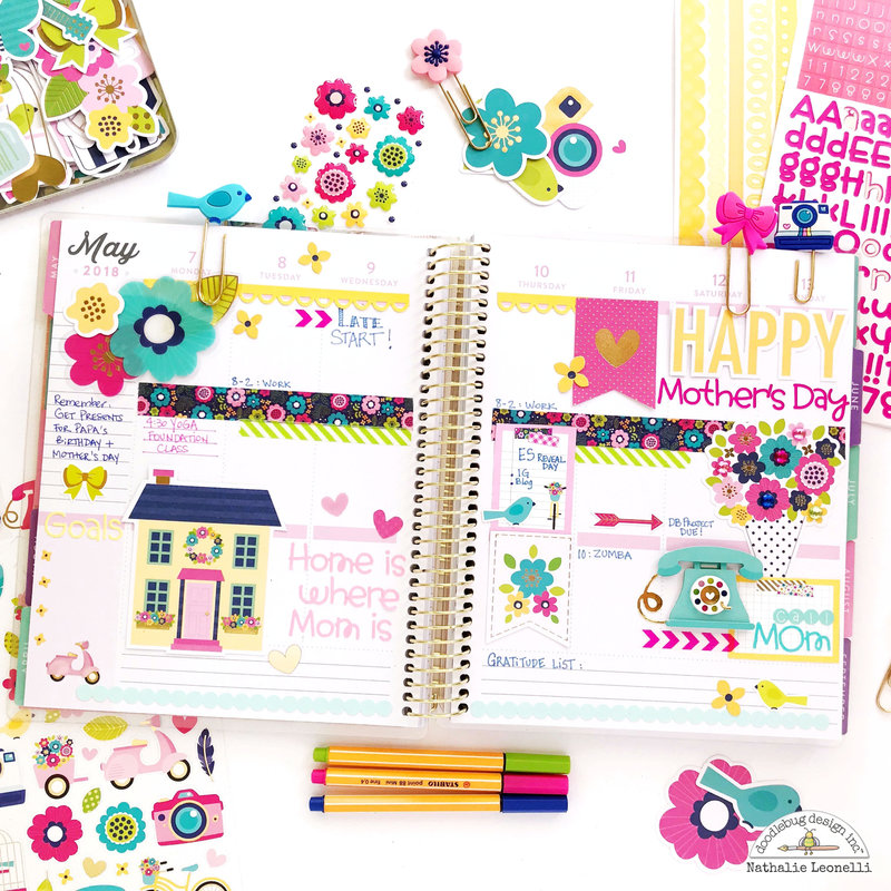 Mother's Day Planner spread