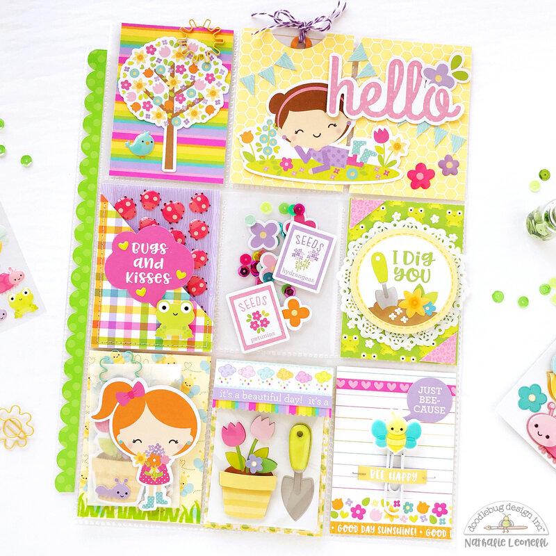 Doodlebug Simply Spring Pocket Letter