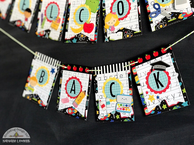 Back to School Banner with Doodlebug Design School Days