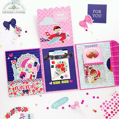 Envelope flip book (Doodlebug Design)