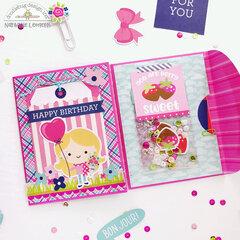 Envelope flip book (Doodlebug Design)