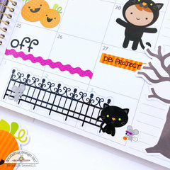 Halloween Planner Spread with Doodlebug Design