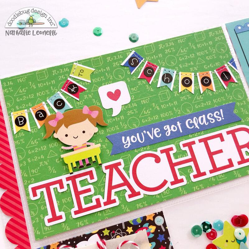 Back to School Pocket Letter