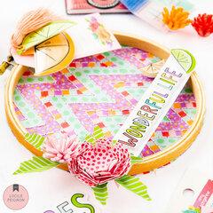Washi Tape Embroidery