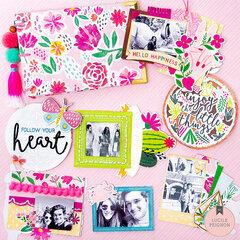 Mini Albums: Floral Cover