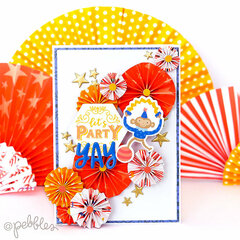 Cards with Big Top Dreams collection by Pebbles