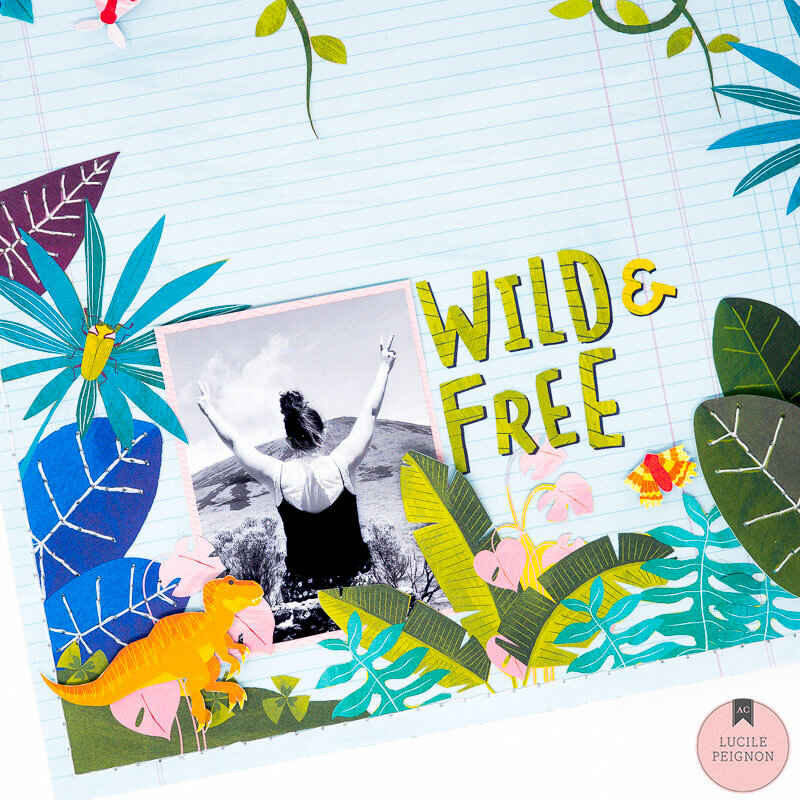 Add Dimension to Your Layout with Shimelle's Field Trip Collection