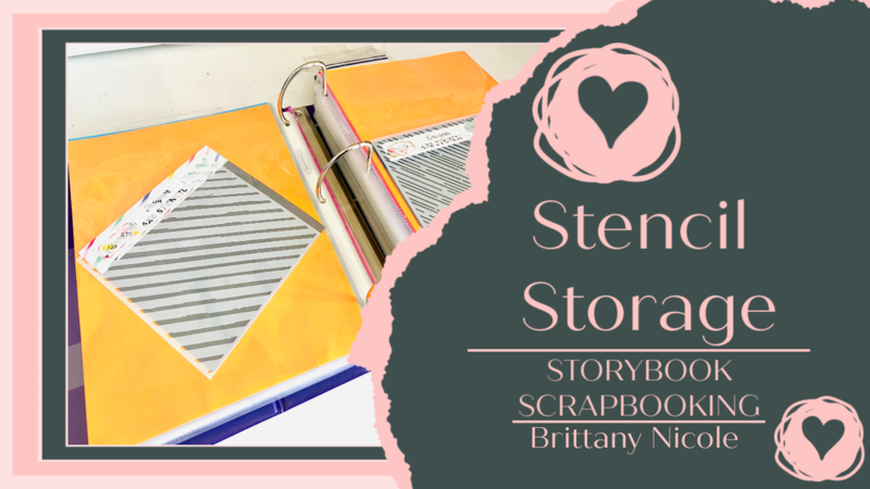 Stencil Storage and Organization Process
