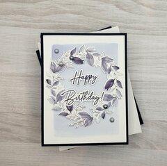 Navy Birthday Card