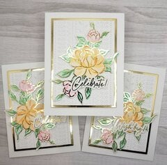 Stamping with Minc Toner Ink