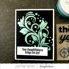 Thoughtfulness/Grateful Card