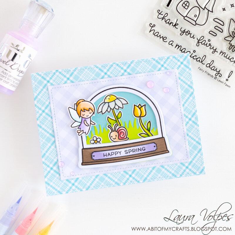 Spring Card Trio feat Lawn Fawn Fairy Friends