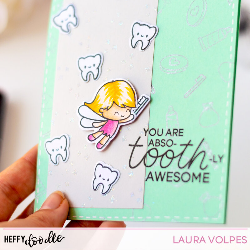 Absotoothly Awesome Card feat Heffy Doodle