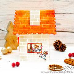 3D House with Scrapbook.com Little Houses Cut File