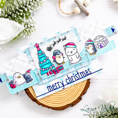 Christmas Slider Surprise Card